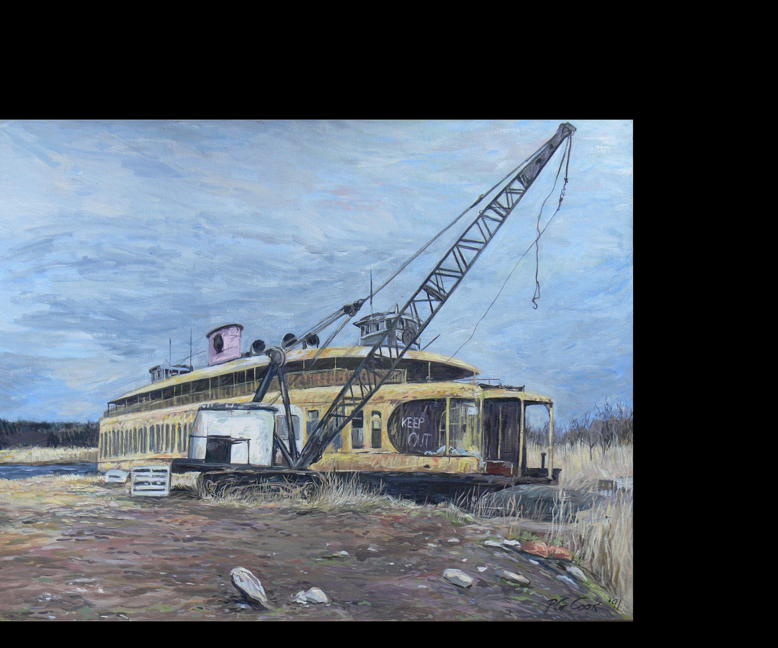 New Jersey Auto Auction >> Transportation | Phil Cook Paintings